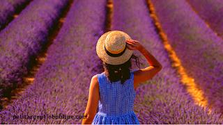Jeune femme nature, survol du blog PAJO