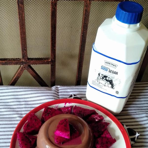 Mau Membuat Panna Cotta Dengan Aroma Susu Sapi yang Segar? Coba Pakai Fresh Milk dari Hometown Dairy