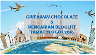# 2 Giveaway Chocolate + Pencarian Bloglist