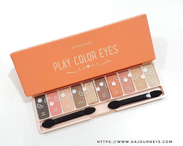 Review Etude House Play Color Eyes Palette Juicy Bar