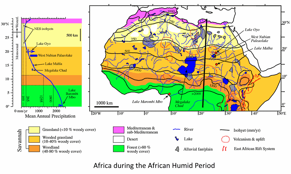 africa during the african humid period