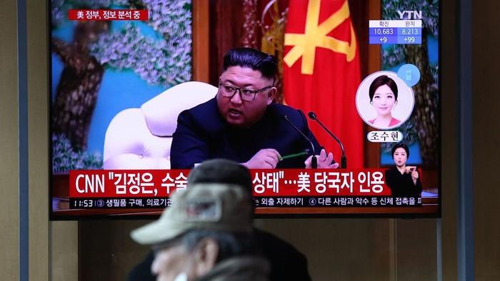 Kim Jong Un Dikabarkan Sakit, Media Korut Bungkam Seribu Bahasa