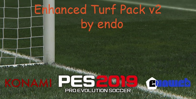 PES 2019 Enhanced Turf Pack V2 AIO dari Endo