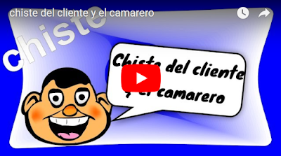 chiste del chiente y el camarero