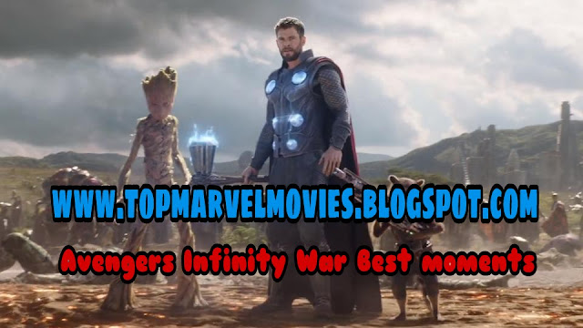 Top entry in avengers infinity war, thor entry in avengers infinity war, best moments