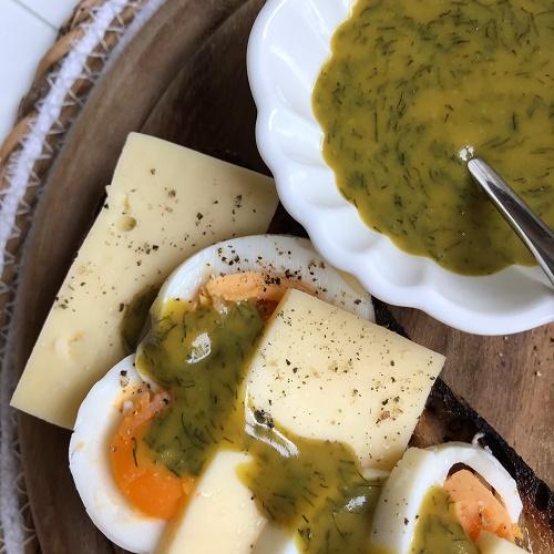 Senf-Dill-Sauce ~ Sås Senap & Dill