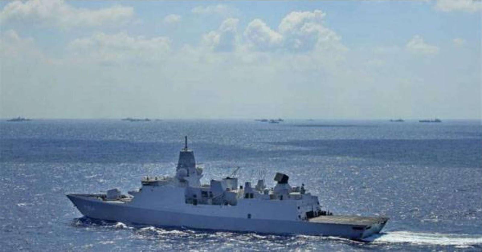 Rusia mulai memantau dua kapal NATO di Laut Hitam