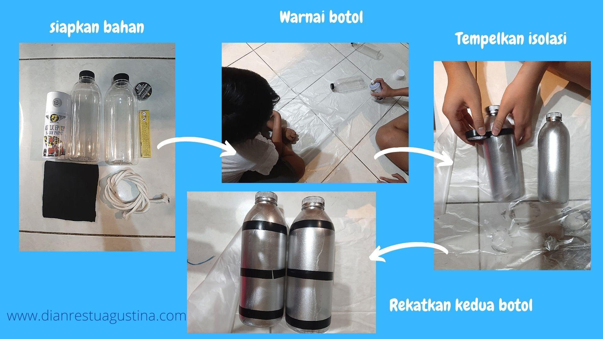 Cara Membuat Tabung Oksigen