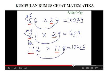 Model Cepat Penyelesaian Matematika Dasar
