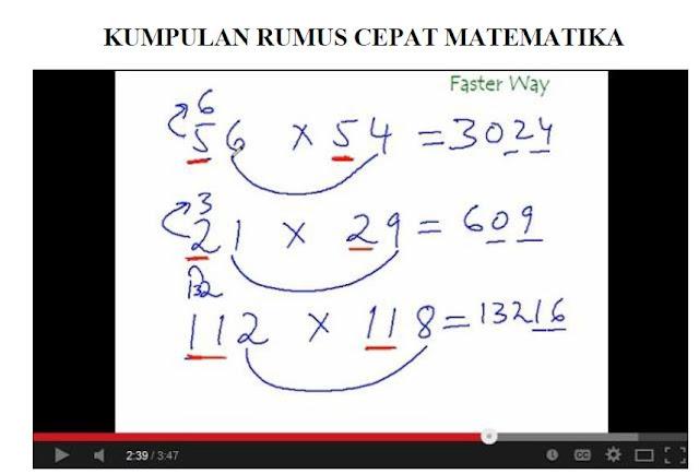 Download Belajar Cepat Rumus Matematika Dasar Bagi Pemula Full Version Lengkap