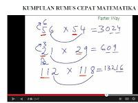 Kumpulan Rumus Cepat Matematika Dasar