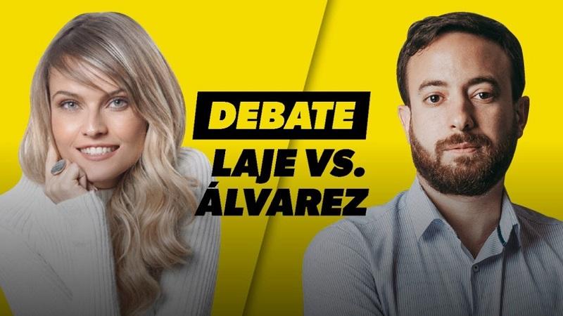 Debate Gloria Alvarez vs Agustín Laje
