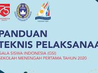 Panduan Teknis Gala Siswa Indonesia (GSI) SMP 2020