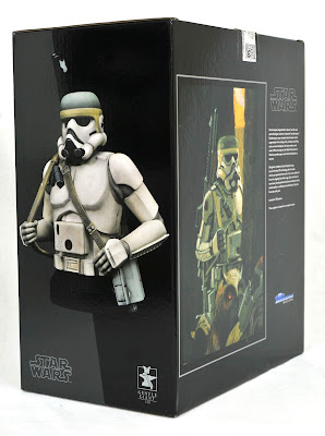 San Diego Comic-Con 2019 Exclusive Star Wars Sandtrooper Concept Edition Mini Bust by Gentle Giant