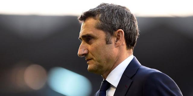 Suporter Barcelona Meminta Untuk Memecat Pelatih Ernesto Valverde