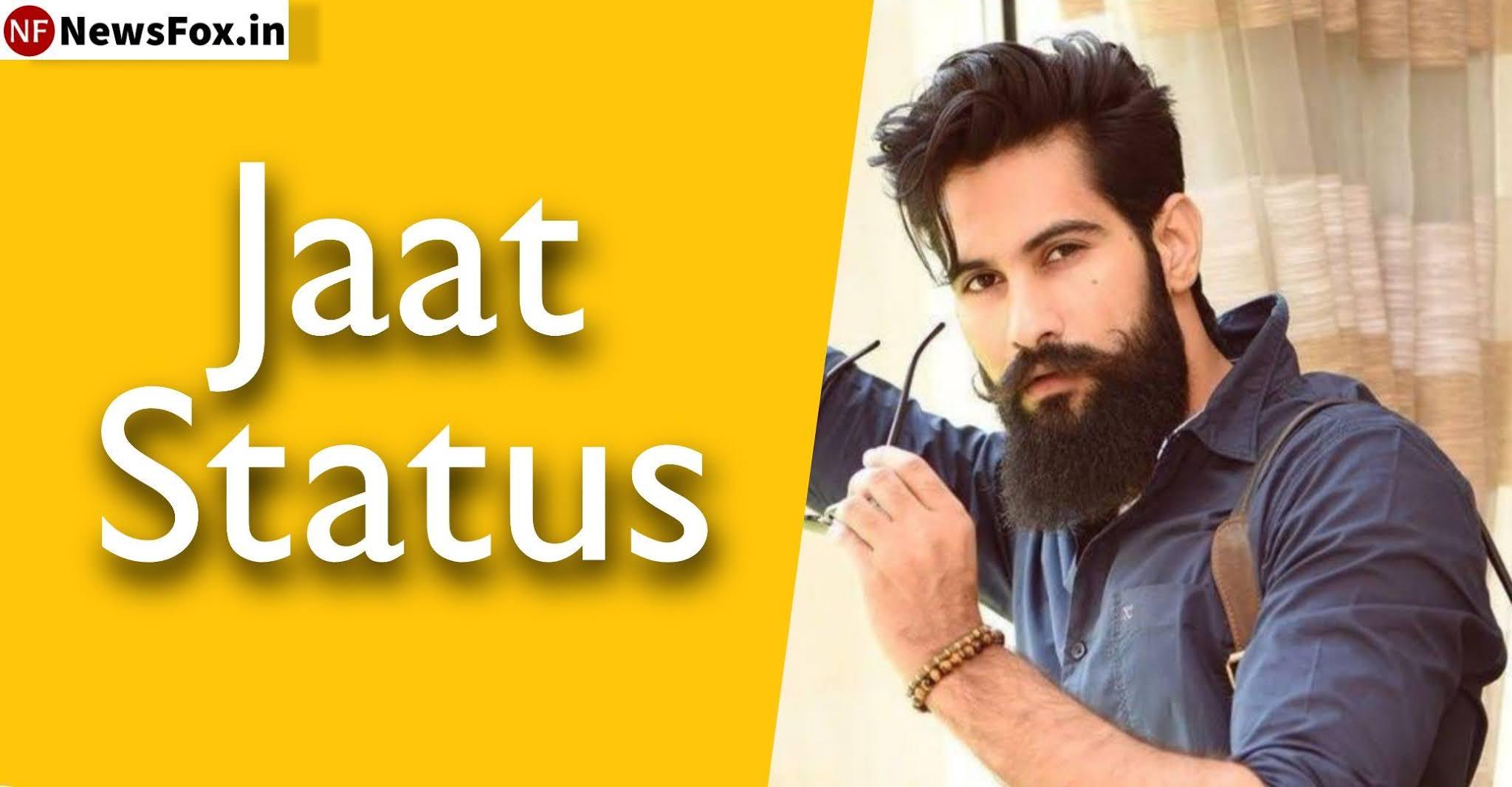 Jaat Attitude Status NewsFox.in