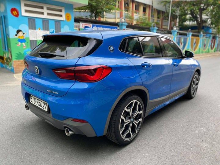 BMW X2 M Sport lỗ 500 triệu đồng sau 2 năm sử dụng