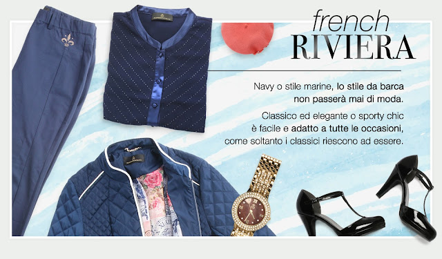 french riviera stile navy