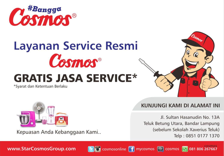 Service Center Cosmos Resmi Seluruh Indonesia
