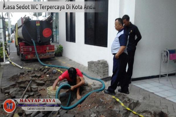 Jasa Sedot Tinja Area Jagir Surabaya harga murah