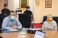 Rapat Virtual dengan Mensos, Gubernur Berharap BLT dalam Bentuk Sembako