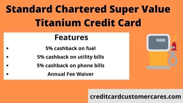 Standard Chartered Bank Super Value Titanium Credit Card
