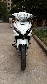 Yamaha Exciter 2011 sơn màu nâu trắng zin
