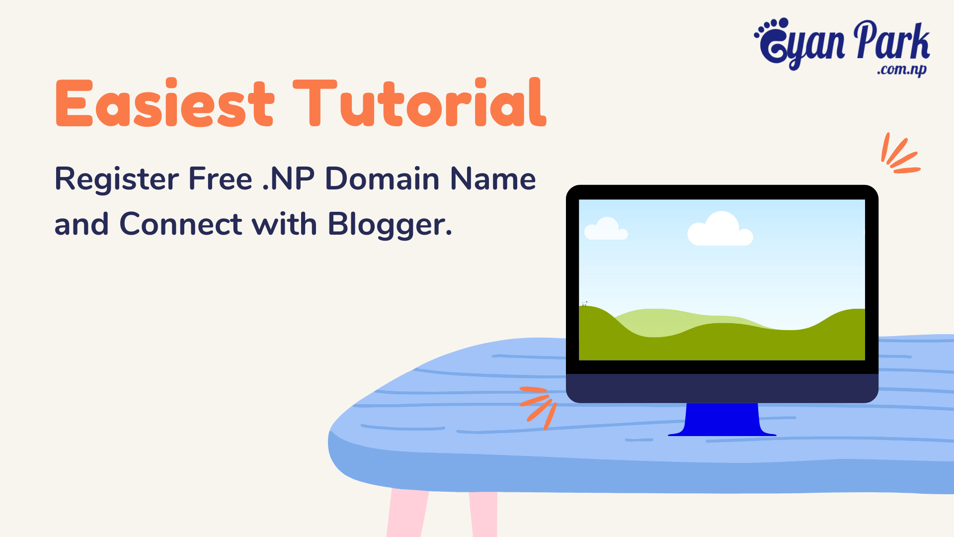 Easiest Tutorial to register .np domain Name. .com.np, .net.np, .edu.np, Free Domain name, Free Hosting, Free DNS service.