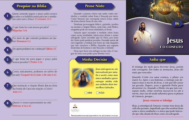Jesus e o Conflito frente