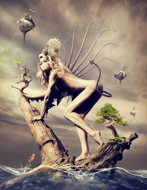 Surreal artworks by Romel Belga Misarwana