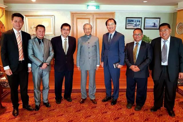 Raban PH Sarawak nemuai meri basa seraya baum enggau PM