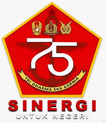 Logo HUT TNI ke-75 Tahun 2020 Terbaru