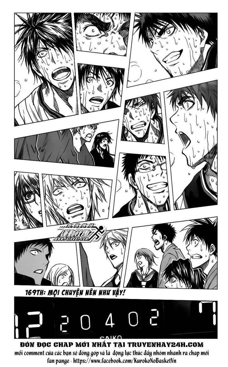 Kuroko No Basket chap 169 trang 3