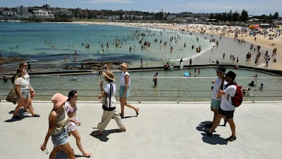 Sydney has reported its hottest November