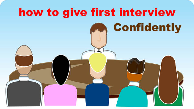 How to Survive Your First job Interview confidently