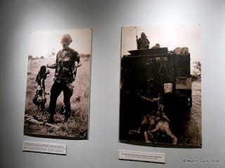 MUSEO DE LOS VESTIGIOS DE LA GUERRA. Saigon, Vietnam. Marzo 2018