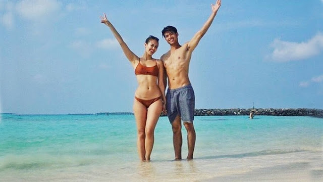 Celebrity : Mikael Daez and Megan Young  Spends Their Holy Week in Maldives!