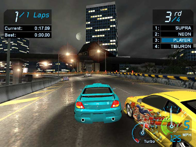 Need for speed nfs underground 1 game pc full version free
