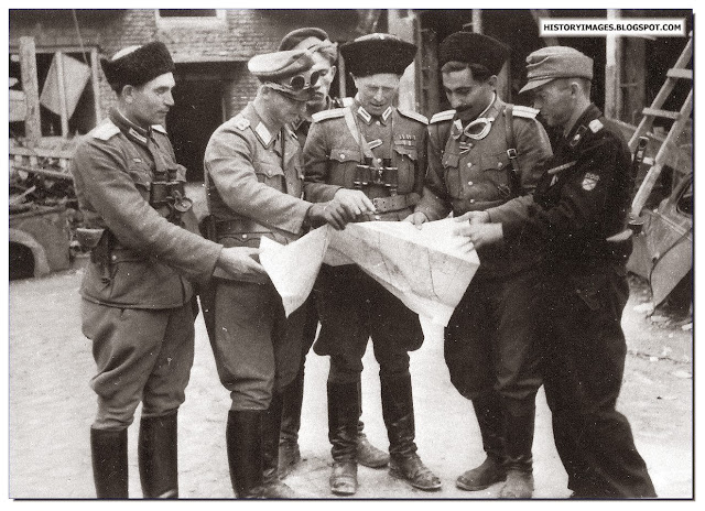 Warsaw uprising  brutally broken by  SS, Police penal battalions and Russian collaborators