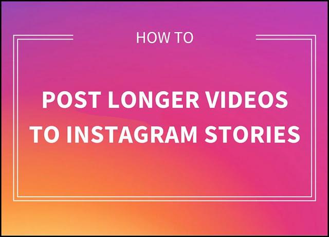 How To Upload Full Video On Instagram Story