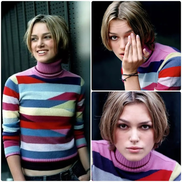 Keira Knightley Short Hairstyle