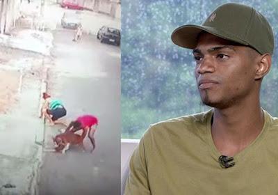 Rapaz que salvou menino de pitbull no Rio ganha curso de segurança