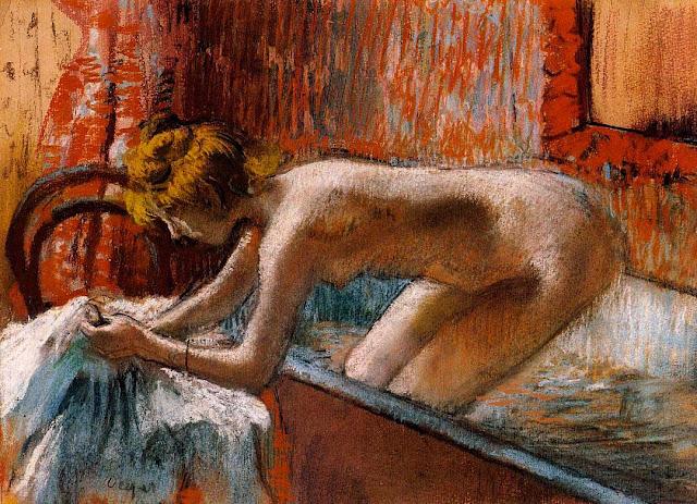 Эдгар Дега - Выход из ванны (1886-1888)