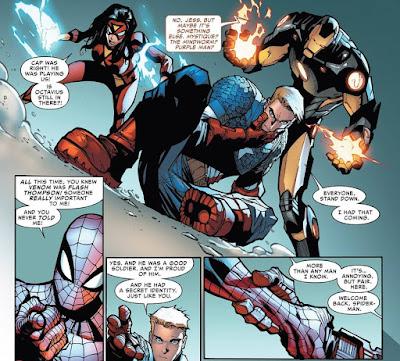 Reseña de Marvel Saga. El Asombroso Spiderman 46. La suerte de estar vivo de Dan Slott - Panini Comics