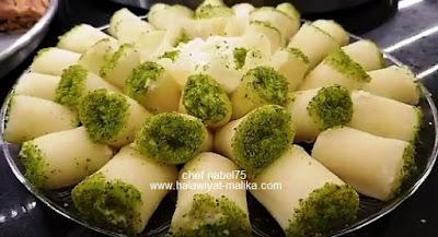 حلاوة الجبن السورية بطريقة مبسطة