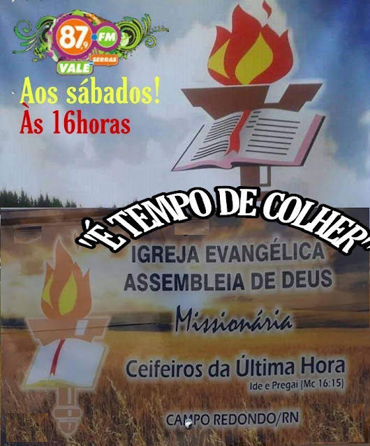 PROGRAMA É TEMPO DE COLHER