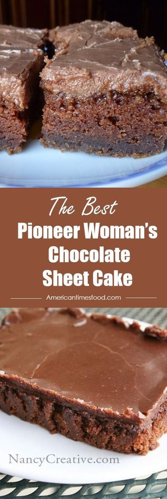 Pioneer Woman's Chocolate Sheet Cake – Delicious recipes to cook with family and friends.