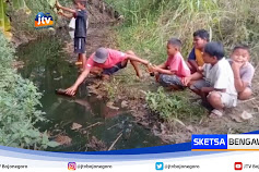 Pipa Minyak Mentah Pertamina Bocor, Cemari Sungai