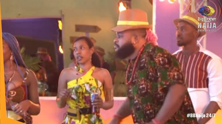 BBNaija: Check out the outfits housemates rocked during Lipton task today, Whitemoney and Angel's outfits are the best