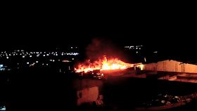 Screenshot 2019 10 06 01 47 36%257E3 - Jacobina: Incêndio atinge garagem da Empresa São Luiz e vários ônibus são destruídos